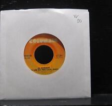 "Al Johnson - I'm Back For More VG 7"" Vinyl 45 USA 1980 Columbia 1-11207"