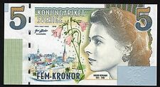 SWEDEN 5 Kronor [2018] - A Crisp Private Issue Note [Ingrid Bergman]