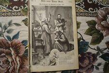 1880 neue Welt 7 Maler W. Claudius Trafalgar Square St James Park London England