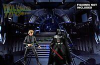 Star Wars Black Series Emperor Throne Room Display Diorama Backdrop (No Figure)