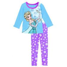 New Disney Frozen Il regno di ghiaccio Princess Elsa Snow Purple Pyjamas Pajamas