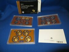 Proof Set 2011 14 Coins DCAM Gem Proofs US Mint Original Box & COA Free Shipping
