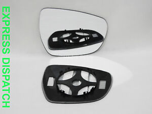 For SUZUKI CELERIO 2014-2018 Wing Mirror Glass Convex Right Side + Plate #SU032