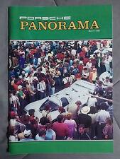 1984 MARCH PORSCHE PANORAMA MAGAZINE CARRERA 911 928 944 924 356 TURBO