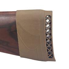 Tourbon Gun Recoil Pad Rubber Slipon Butt Stock Extension Buttpad Absorber Brown