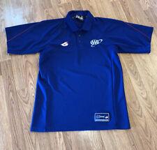 Mens Chase Authentics David Ragan #6 Blue Polo Shirt Size Large
