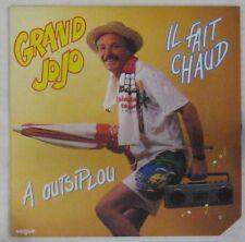Pochette Parapluie 45 tours Grand Jojo 1984