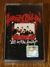 "Lordz Of Brooklyn ""All In The Family"" Cassette Tape 1995 Hip-Hop, Mafioso Rap"