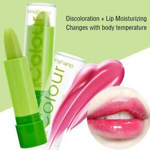 Moisture Lip Balm Aloe Vera Lipbalm Temperature Changed Color Lipstick Hot