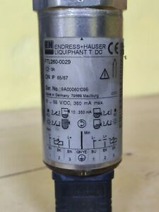 Endress + Hauser Liquiphant T FTL260-0029 Vibration Liquid Level Switch
