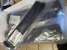 1000 Pack 18 Blck Zip Tiescable Ties Heavy Duty Nylon Uv Resistant Ul Scorpion