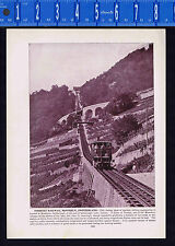 Interlaken, and Jungfrau & Territet Railway, Montreux, Switzerland 1893 Ridpath