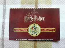 Harry Potter Used Studio Tour Ticket London