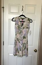 I Heart Ronson Summer Floral Print Dress,  Size XS, NWT, MSRP $50