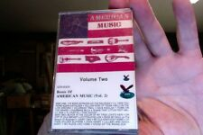 Roots of American Music Volume Two- various- new/sealed cassette tape