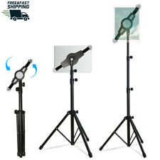 Foldable Floor Tablet Tripod Stand Mount iPad and Tablet Floor Height Adjustable