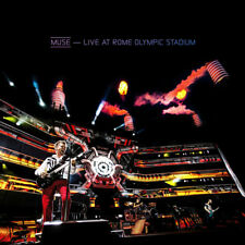 MUSE LIVE AT ROME OLYMPIC STADIUM CD & DVD NEW