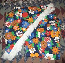 Vintage Girls Flower Power Pants & Poncho - Size 10