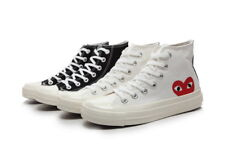 Comme Des Garcons Play Chuck Taylor Red Heart High Top Mens/Womens Canvas Shoes