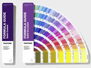 PANTONE Formula Guide Solid Coated & UnCoated. 294 new colours. Latest version