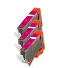 3 MAGENTA Ink Cartridge for Canon Printer CLI-221M MP640 MX860 MX870