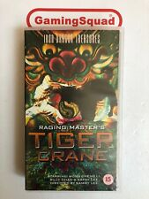 Raging Master's Tiger Crane VHS Video Retro, Supplied by Gaming Squad