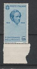 FRANCOBOLLI 1935 REGNO BELLINI L. 1,25 MNH Z/3296