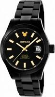 Invicta Limited Edition 24970 Men's Round Black Automatic Date Analog Watch