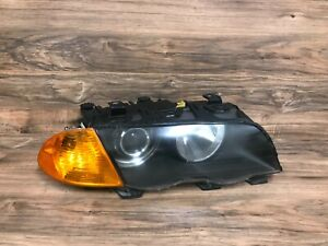 BMW OEM E46 320 325 328 330 FRONT PASSENGER SIDE XENON HEADLIGHT 1999-2001 SEDAN