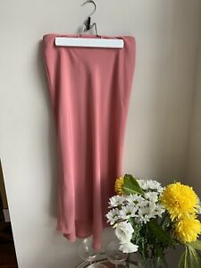 Zara Slip Skirt Pink Size Small