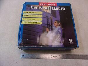 First Alert EL52-2 Fire Escape Ladder, 14'