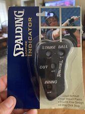 Spalding Brand New Umpire Indicator . 4 Way Click . Still In Original Packaging