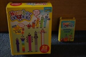 CBeebies Numberblocks 1-10 box set plus activity cards