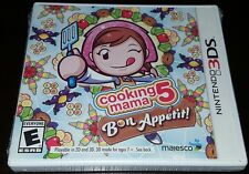 NINTENDO 3DS COOKING MAMA 5 BON APPETIT BRAND NEW VIDEO GAME