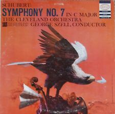 Schubert Symphony No. 7 In C Major-Szell/Cleveland Orchestra LC 3431
