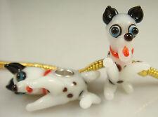 1pcs SILVER MURANO GLASS BEAD LAMPWORK Animal fit European Charm Bracelet qm10