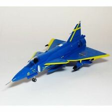 Saab Contemporary Diecast Aircraft & Spacecraft with Stand