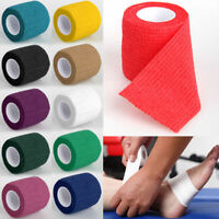 Self-Adhesive Elastic Bandage First Aid Medical Athletic Treatment Gauze Tape