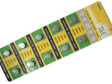 10pcs AG3 392 392A LR41 LR736 SR41 SR736 1.55V Alkaline Cell Button Battery