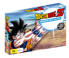 BRAND NEW Dragon Ball Z Kamehameha Movie Collection (DVD, 4-Discs) *PREORDER R4