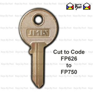 FP Classic / Vintage Car Keys Cut to Code,  Key codes FP626 to FP750