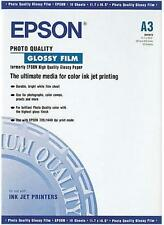Epson S041073 - 10 sheets photo quality glossy film A3 297x420 mm