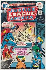 JUSTICE LEAGUE OF AMERICA #119 JLA HIGH GRADE WinnerTakes Earth Masters Jun 1975