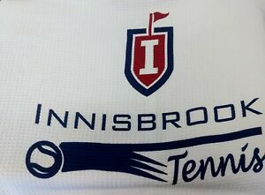 Innisbrook Logo Large Fold Up Wrap Around Towel with Strap 39x16 NWOT