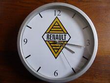 RENAULT vieux losange pendule murale horloge 20cms ( KDO DKO billancourt REGIE