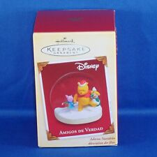 Hallmark - 2005 - Amigos de Verdad - Spanish - Winnie the Pooh Keepsake Ornament