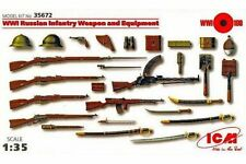 ICM 35672 1/35 WWI Russian Infantry Weapon and Equipment