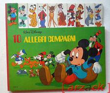 WALT DISNEY 10 ALLEGRI COMPAGNI edizioni Club 1982
