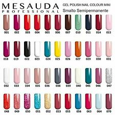 Mesauda Gel Polish Nail Color 10ml Smalto Semipermanente - 5 pezzi spediz gratis
