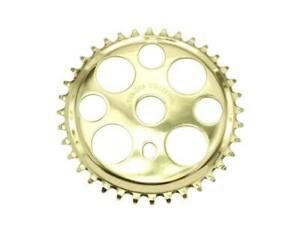 "Bicycle Gold Lucky 7 Sprocket 36T 1/2"" x 1/8"" Chopper Bike Lowrider Cruiser"